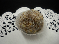 Honey Ginger Crisp Rum Ball